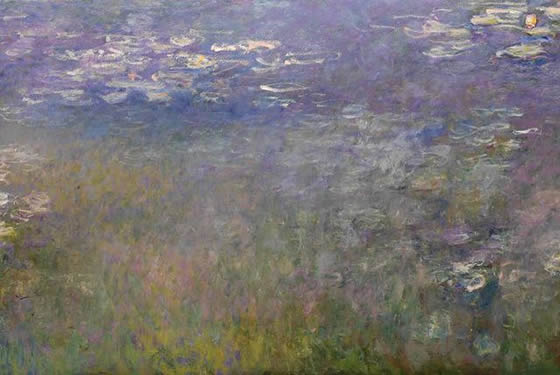 'Water Lilies' by Claude Monet