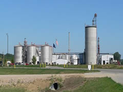 Siouxland Ethanol plant on U.S. Highway 20 west of Jackson, Nebraska