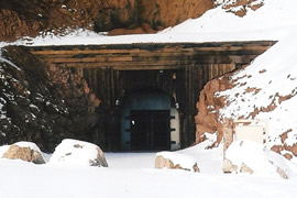 old stage coach tunnel